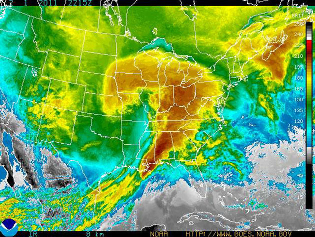 Groundhog Day Blizzard of 2011. : NOAA