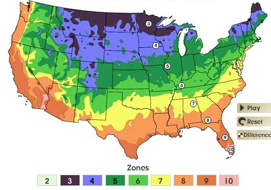 Long Overdue Plant Hardiness Map Is A Hothouse Mother Jones