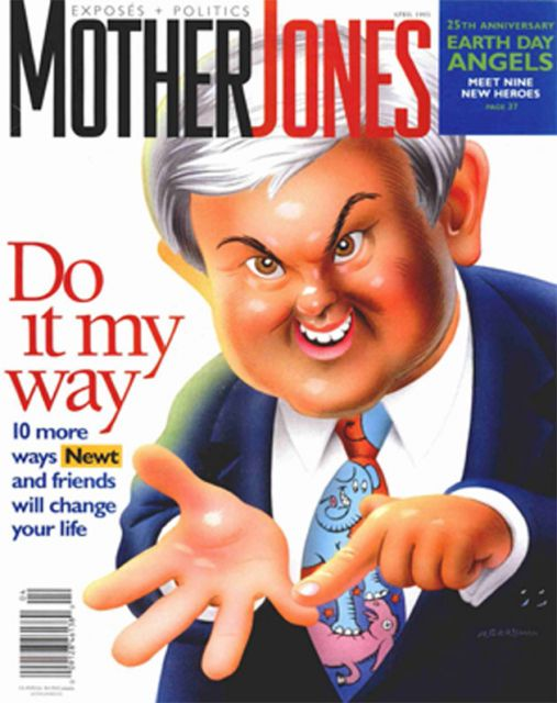 Cover of the March/April 1995 Issue.: Illustration by Robert Grossman