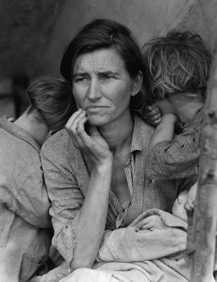 Credit: Dorothea Lange, courtesy Wikimedia Commons.