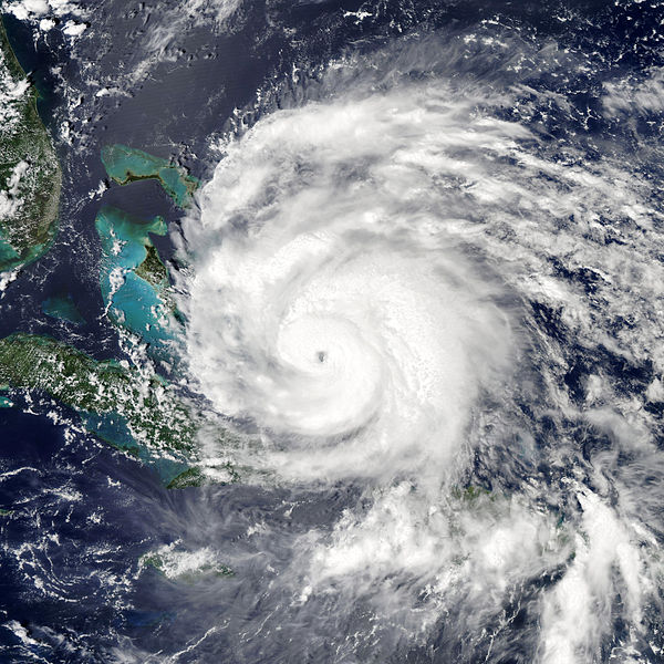 Hurricane Irene. Credit: NASA Earth Observatory.