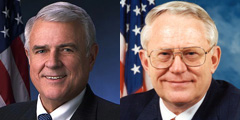 Reps. John Carter (R-Texas) and Joe Pitts (R-Pa.)