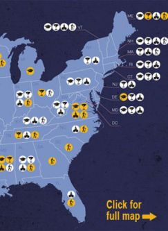 See a map of where guns are permitted.: Source: Legal Community Against Violence