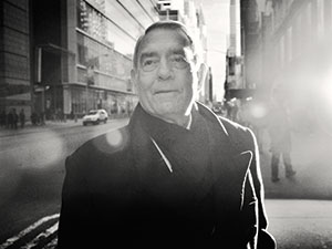 Dan Rather near his office in New York City.: Christopher Anderson/Magnum