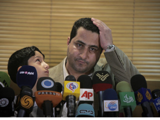 Iranian defector Shahram Amiri: Ahmad Halabisaz/Zuma Press
