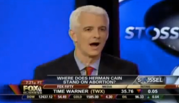 Herman Cain has the rare ability to render a cable news pundit speechless.: Fox News/YouTube