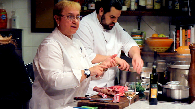 Lidia Bastianich at Eataly, New York: James West