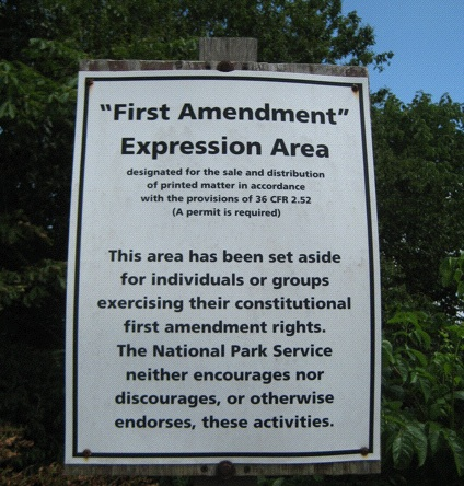 "America's Best Idea: Great Smoky Mountains National Park, Tennessee—Who drives halfway through the Smoky Mountains to protest government spending or raise awareness of the coming apocalypse? Apparently no one—at least not for the hour I spent in the ""Expression Area."""