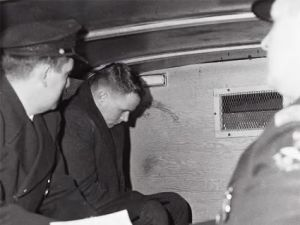 Police take William Zantzinger into custody.: AP/Wide World Photos