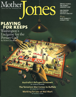 Cover of the March/April 2003 Issue