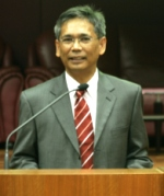 Raja Aziz, head of Malaysia's Atomic Energy Licensing Board: Image by AELB Malaysia