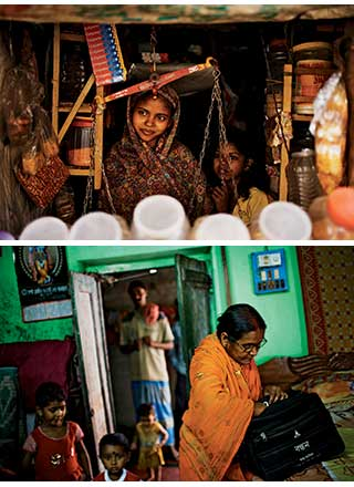 Bandhan microloans have allowed Rehana Bibi and Supta Halder to radically alter their families and communities.