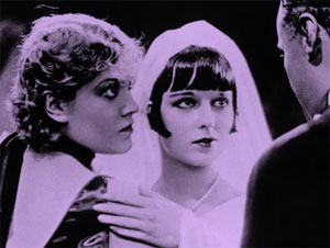 Alice Roberts as the Countess Geschwitz with Louise Brooks in G.W. Pabst's Pandora's Box (1929). (moviegraphsinc)
