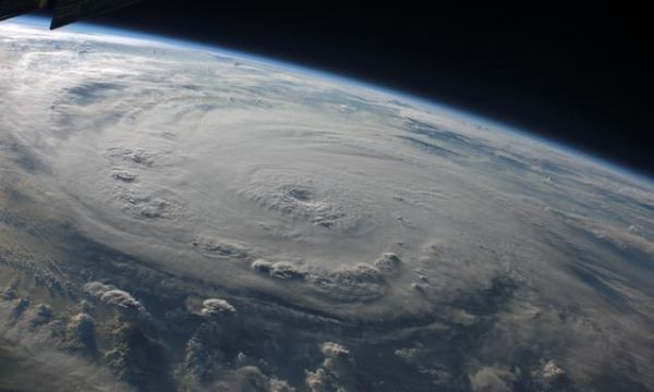 Hurricane Felix over the coast of eastern Honduras. Credit: NASA via Universe Today.