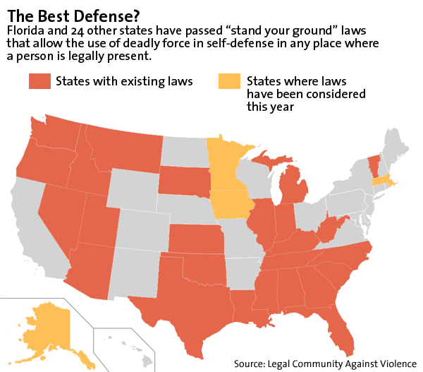 stand your ground law After an impassioned debate, the ohio house of representatives on wednesday approved legislation that would make sweeping changes to the state's concealed-weapons laws, including a &#8220stand your ground&#8221 self-defense provision.
