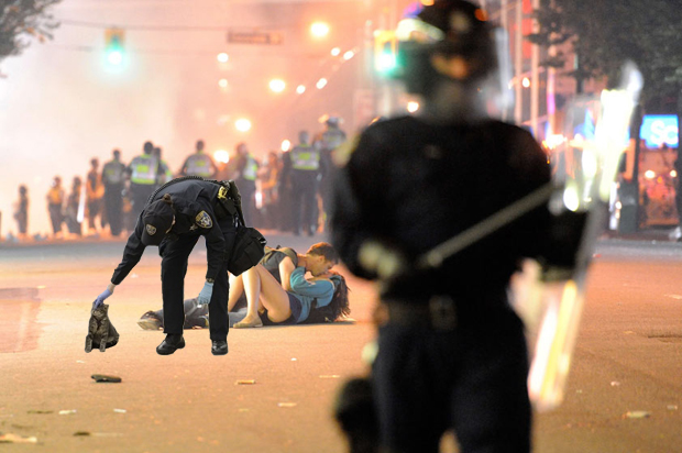 Vancouver Riot Kitty
