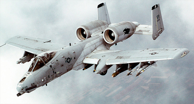 The A-10 Warthog, an endangered species: US Air Force