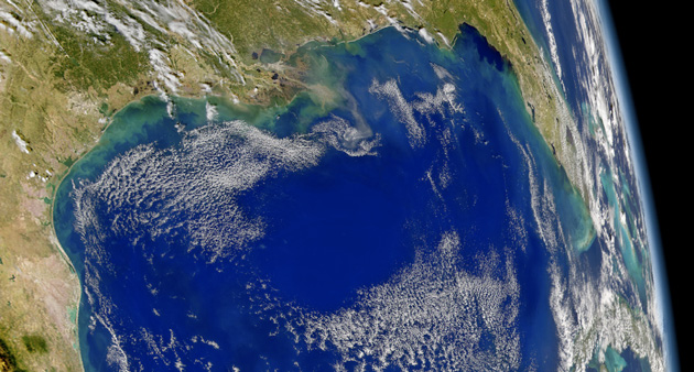 The Gulf of Mexico: NASA