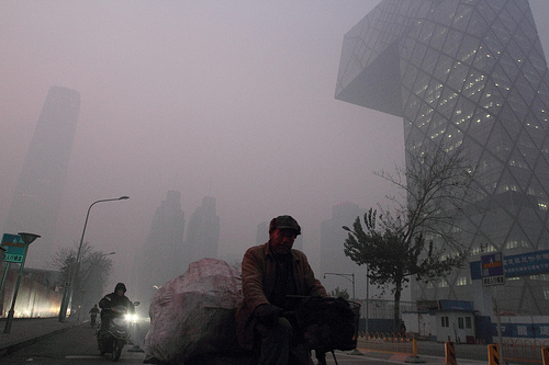 Beijing, near the CCTV Headquarters: ??/Flickr