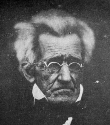 78 year-old Andrew Jackson.: Wikimedia Commons