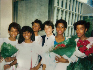 Children of the '80s: eighth grade graduation.