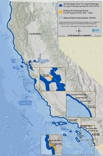 California's No-Discharge Zone: California EPA
