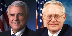 Reps. John Carter (R-Texas) and Joe Pitts (R-Pa.)