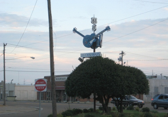 Why Fact-Checkers Drink: According to lore, this is the crossroads in Clarksdale, Mississippi, where blues legend Robert Johnson sold his soul to the devil in exchange for a total mastery of the guitar.