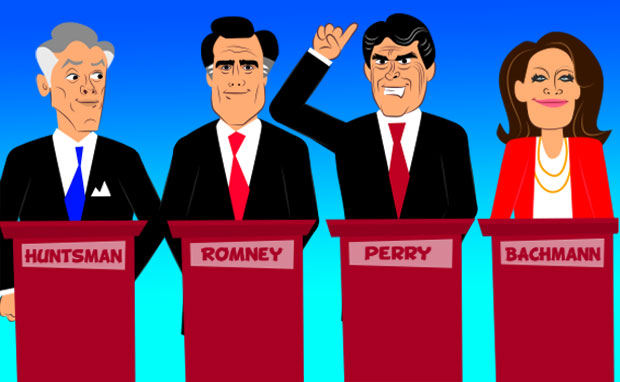 Illustration by Zina Saunders. Click here to watch her animated preview of the debate.