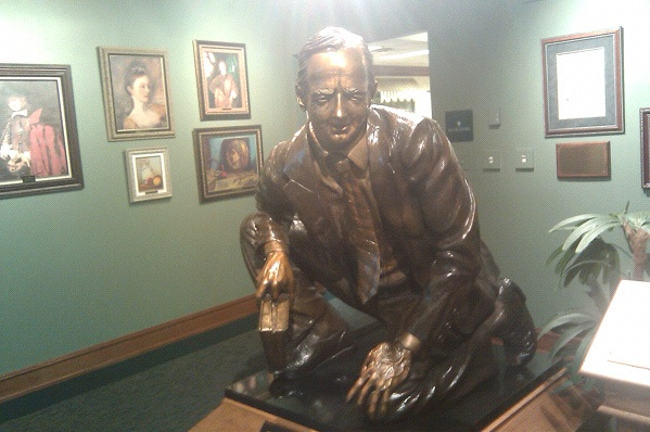 Focus: James Dobson may have been forced out of Focus on the Family last winter, but his presence is still felt at the Colorado Springs headquarters (Photo: Tim Murphy).