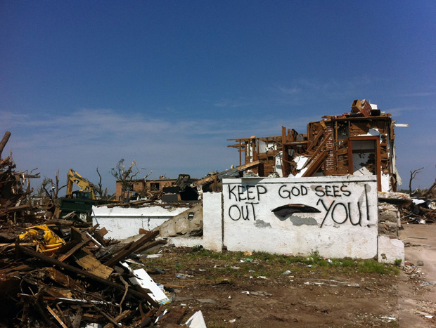 A demolished house in Joplin, Mo.: Photographs by Andy Kroll
