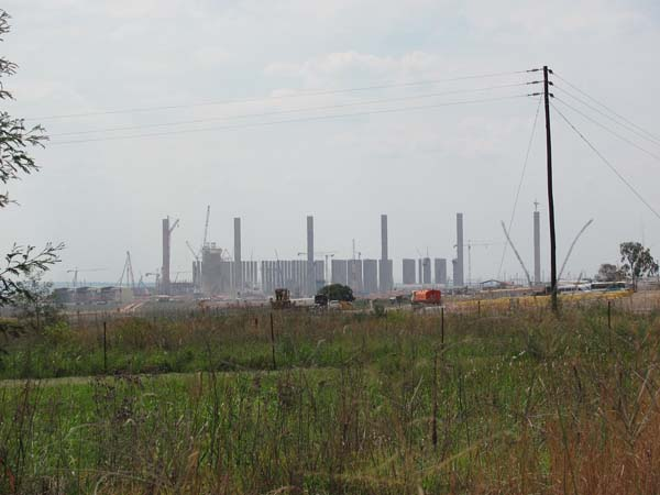 Construction on Kusile began in 2007, and is expected to be completed in 2015. When finished, it will be one of the largest power plants in the world.