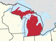 Which state is the mitten-est?