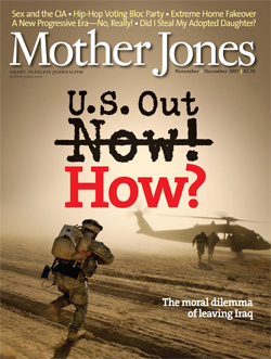 Cover of the November/December 2007 Issue