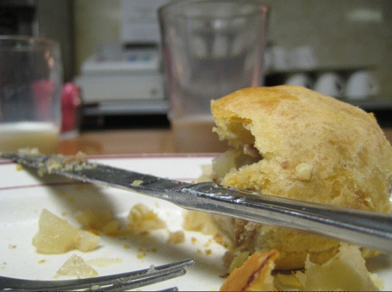 Yoop We Can: Potatoes + Rutabegga + Beef + Butter + Butter +Butter = a Pasty (Photo: Tim Murphy)