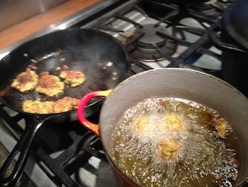 Pan fry, deep fry: it's all good.
