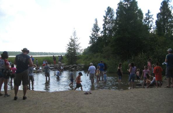 Pilgrims: Lake Itasca, Minnesota (Photo: Tim Murphy).