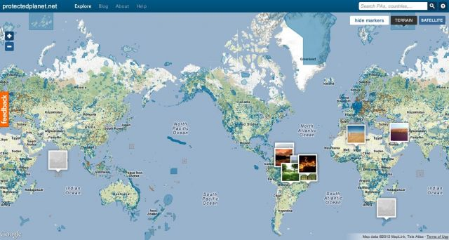 Credit: ProtectedPlanet.net/World Database on Protected Areas