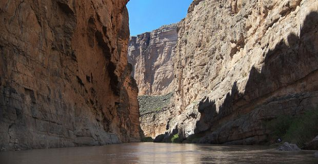 Santa Elena Canyon, Big Bend National Park.: Longhorndave/Flickr