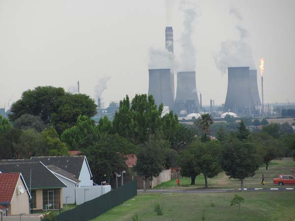 The Sasol plant in Secunda was the second coal-to-liquids plant built in South Africa. The first was built in a town called Sasolburg in 1955. The Secunda plant was constructed the early 1980s, and is the largest coal liquefaction plant in the world.