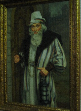 Bob the Lender: Bob Jones Sr., a noted Shakespeare buff, posed for this portrait dressed as Shylock.
