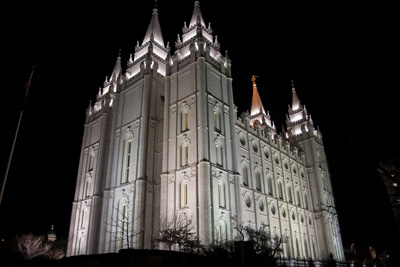 The Salt Lake Temple: Wikimedia