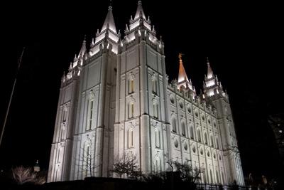 The Salt Lake Temple: Wikimedia