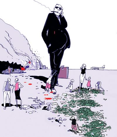 Illustration: Istvan Banyai