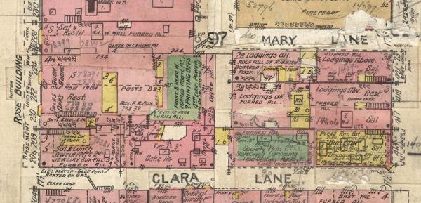Clara Lane: David Rumsey Map Collection