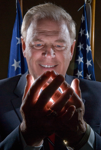 Ohio Governor Ted Strickland. | © Gary Gardiner/EyePush Newsphotos
