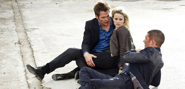 "A delectable post-chase sequence Reese-Witherspoon-sandwich in ""This Means War"" (2012).: Photo courtesy of 20th Century Fox"