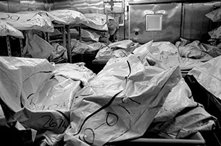 Unclaimed bodies at the Wayne County Morgue