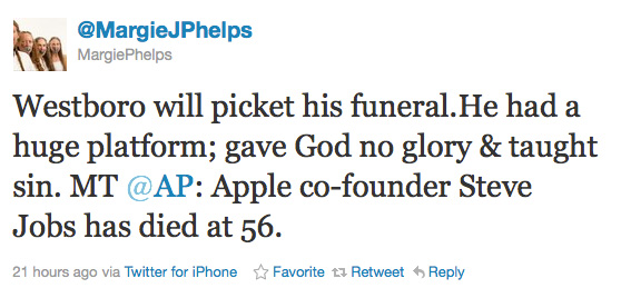 """Westboro Baptist Church to Picket Funeral of """"Gay-Friendly"""