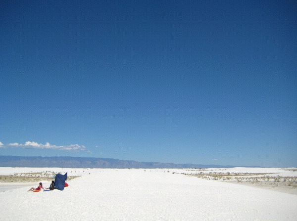 White Sands National Monument, outside Alamogordo, New Mexico (Photo: Tim Murphy).